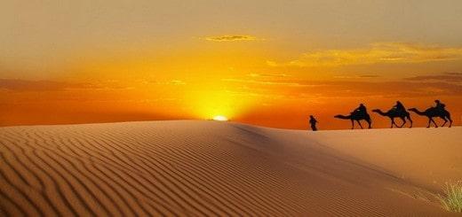 trek pas cher dans le désert marocain